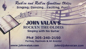JOHN VALAN  - ROCK'EN / GOLD'EN OLDIES